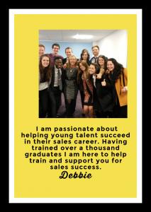 Training sales graduates